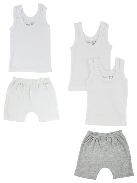 Infant Tank Tops and Shorts