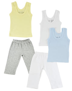 Boys Tank Tops and Track Sweatpants