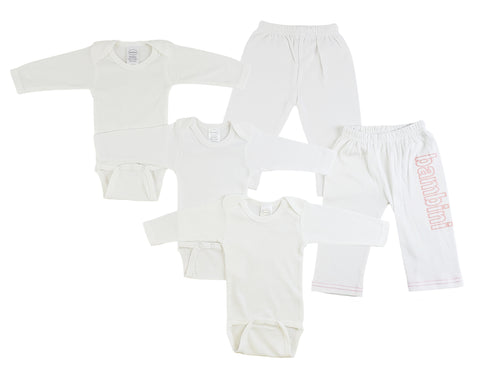 Infant Long Sleeve Onezies and Track Sweatpants