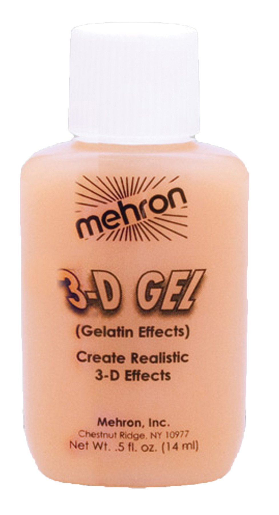 3-D Gel Gelatin Effects-Flesh