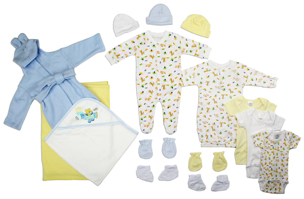 Bambini Newborn Baby Boys 15 Pc Layette Baby Shower Gift Set
