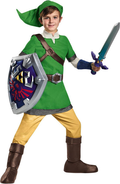 Link Deluxe Boys Costume 10-12