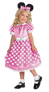 Clubhouse Minnie Pink Toddler Costume 3T-4T