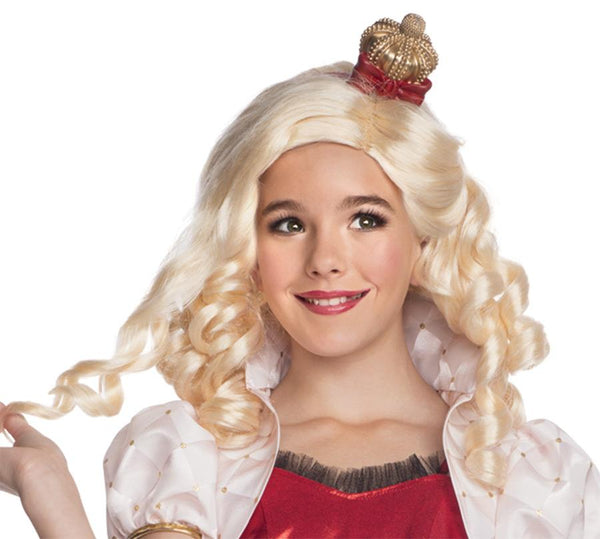 Ever After High Apple White Child Wig