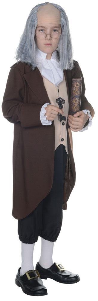 Ben Franklin Boys Costume Large 10-12
