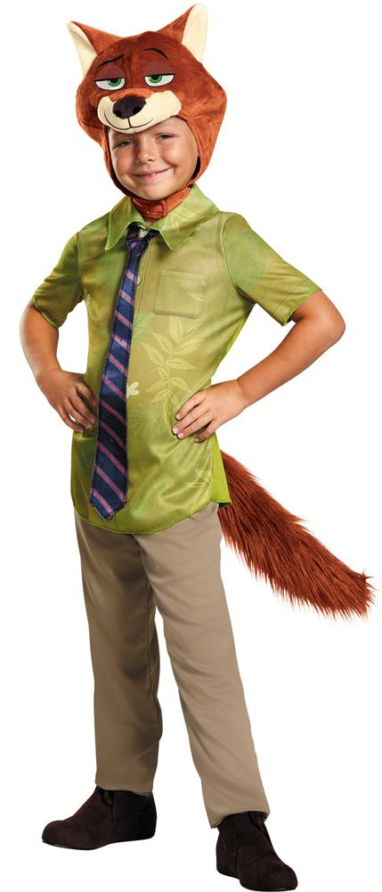 Zootopia Nick Wilde Toddler Costume 3T-4T