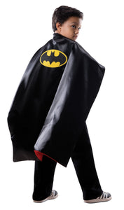 Super Hero Cape Child Costume Reversble