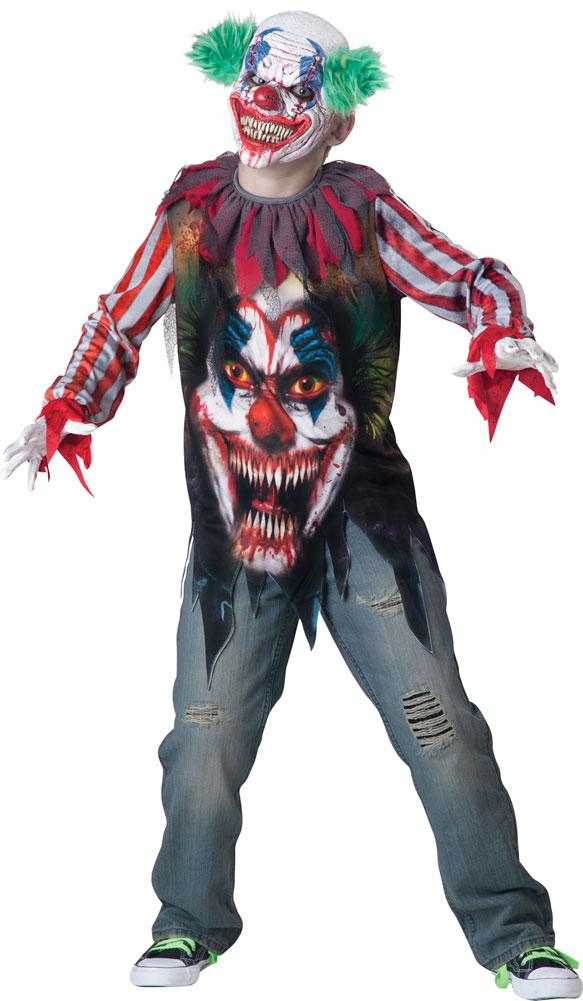 Big Top Terror Boys Costume XSmall 6