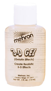 3-D Gel Gelatin Effects-Clear