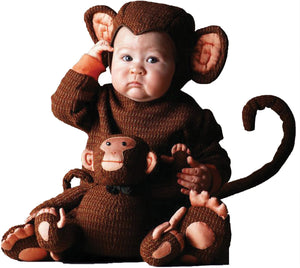 Tom Arma Monkey Toddler Costume 4T-5T