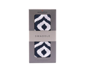 Moroccan Blue Swaddle