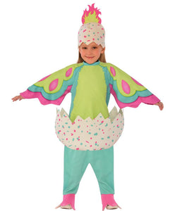Pengualas Hatchimal Pink and Teal Toddler Costume 3T-4T