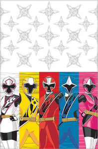 Power Rangers Ns Party Table Cover