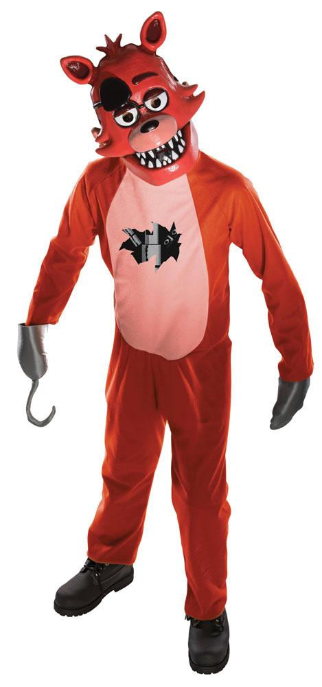 Five Nights At Freddys Foxy Boys Costume Large