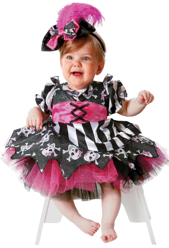 Abigail The Pirate Toddler Costume 3T-4T