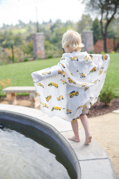 Yellow Digger Swaddle