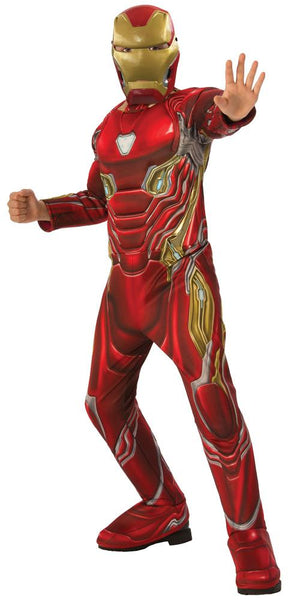 Iron Man Boys Costume Infinity War Lg