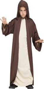 Hooded Robe Brown Child
