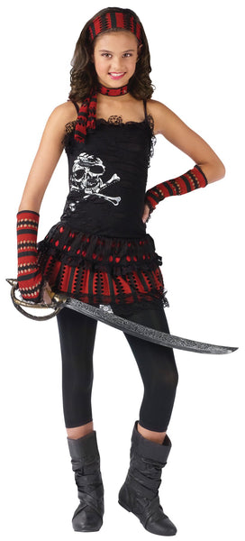 Pirate Skull Rocker Child 4-6