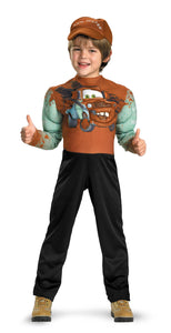 Tow Mater Muscle Boys Costume 7-8