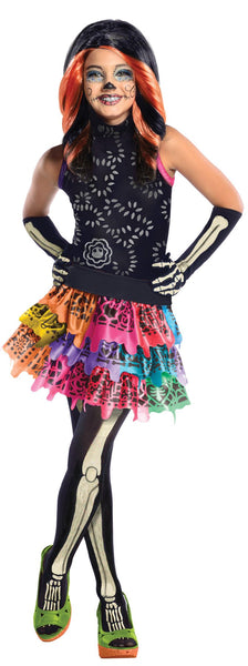 Monster High Skelita Calaveras Child Costume Lg