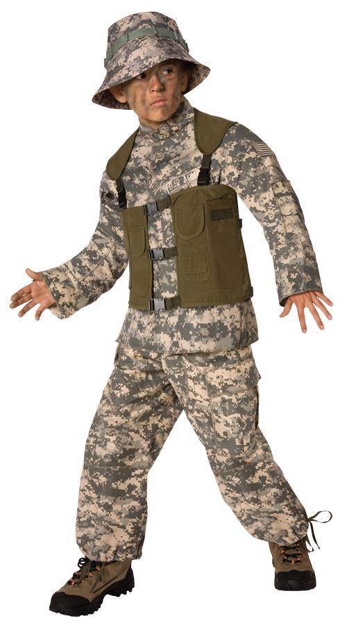 Delta Force Boys Costume 4-6