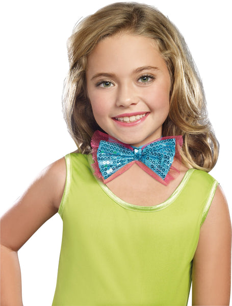Dance Craze Child Costume Bowtie Turq
