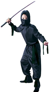 Black Ninja Boys Costume Md