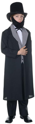 Abraham Lincoln Boys Costume Large 10-12