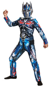 Optimus Prime Boys Costume 10-12