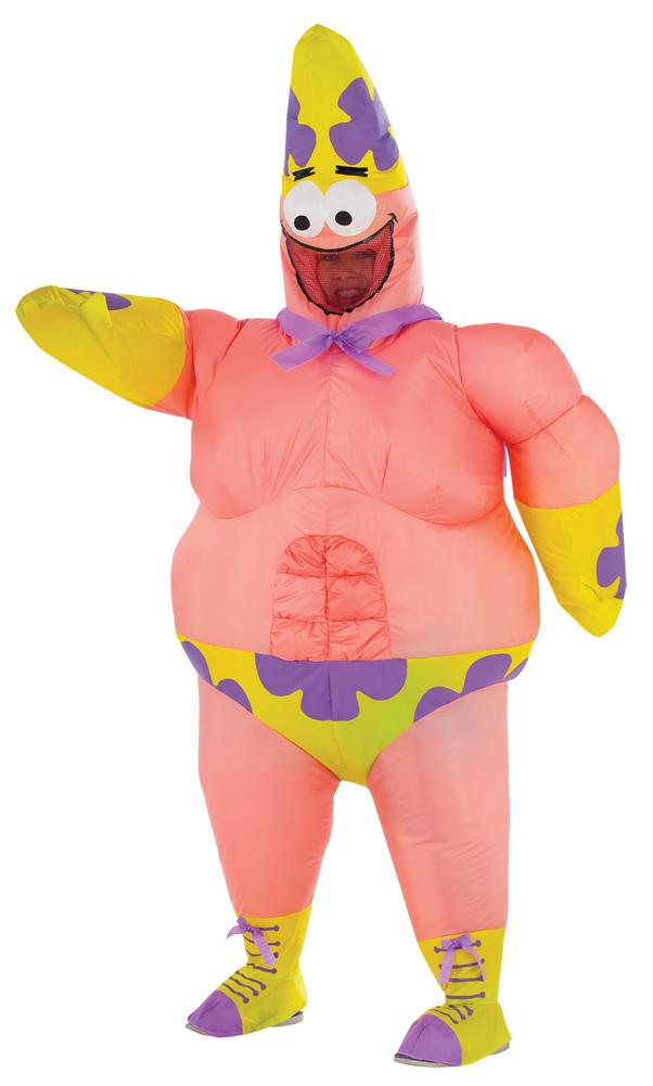 Spongebob-Patrick Star Inflatable Adult Costume