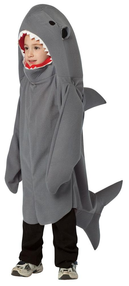 Shark Boys Costume Small 4-6