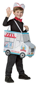 Swirlys Ice Cream Truck Boys Costume Small 4-6