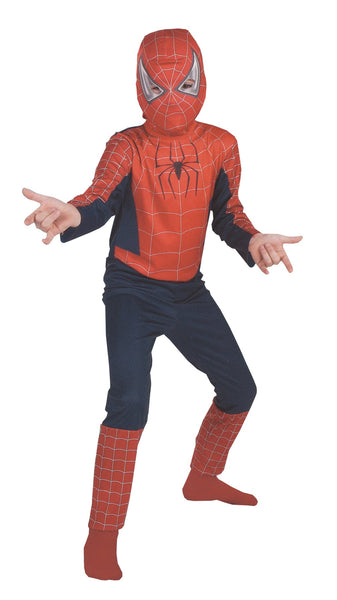 Spiderman Movie Boys Costume 7-10 Std