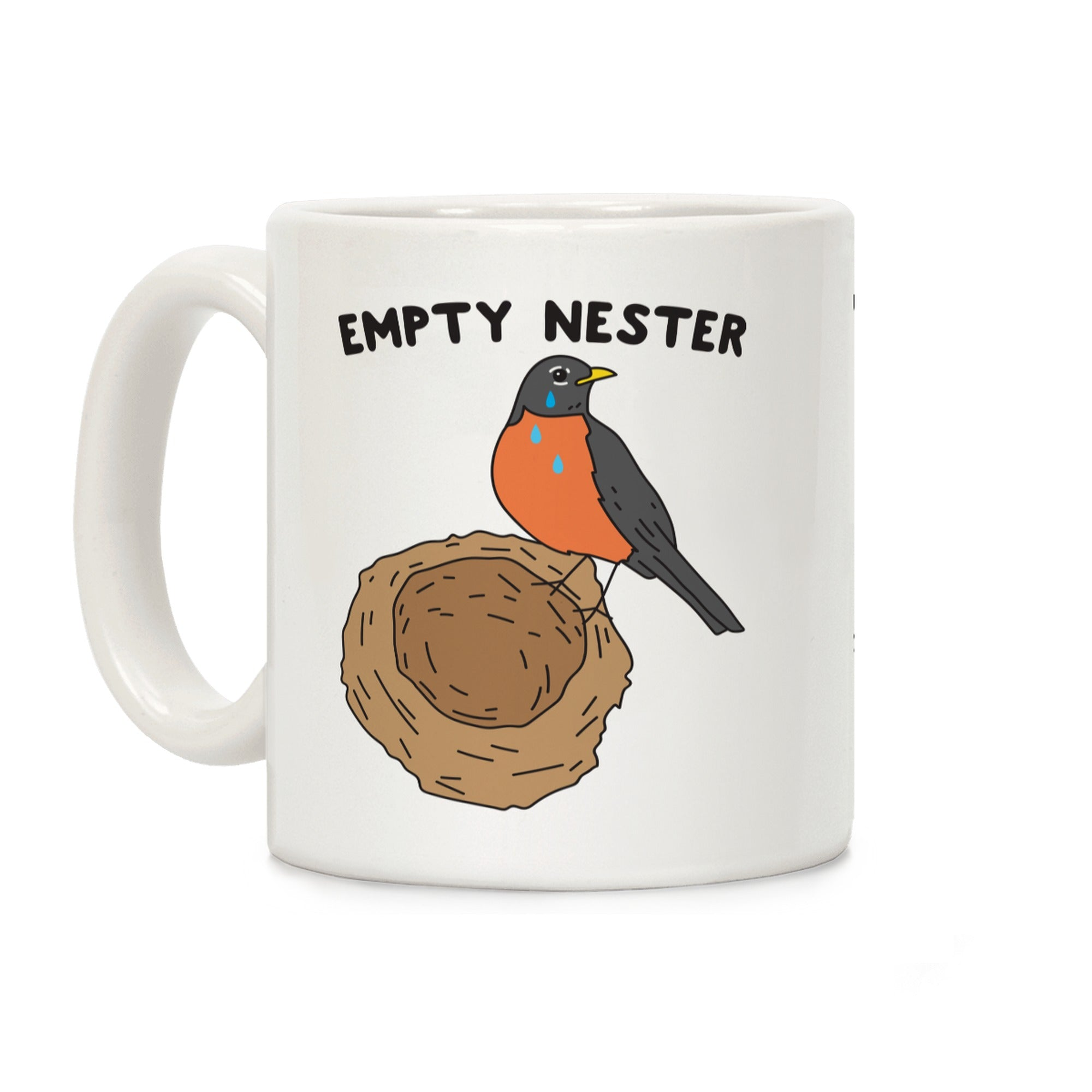 Empty Nester Ceramic Coffee Mug by LookHUMAN