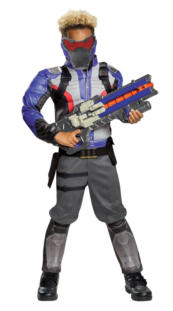 Soldier 76 Classic Muscle Boys Costume 7-8