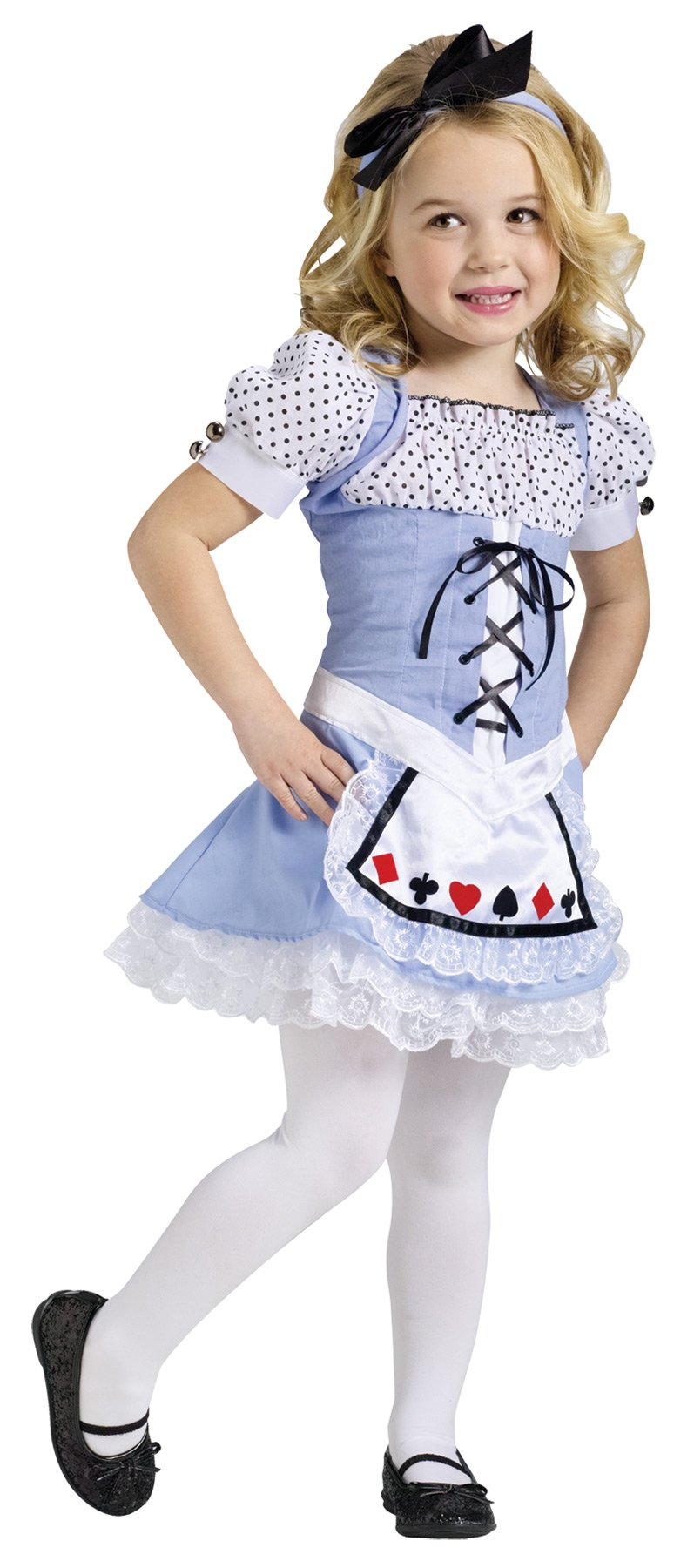 Alice Child Toddler Costume 3T-4T