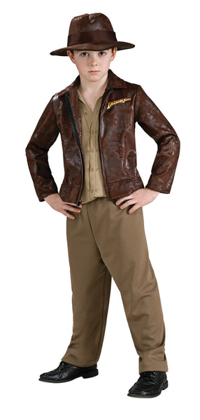 Indiana Jones Deluxe Boys Costume Medium