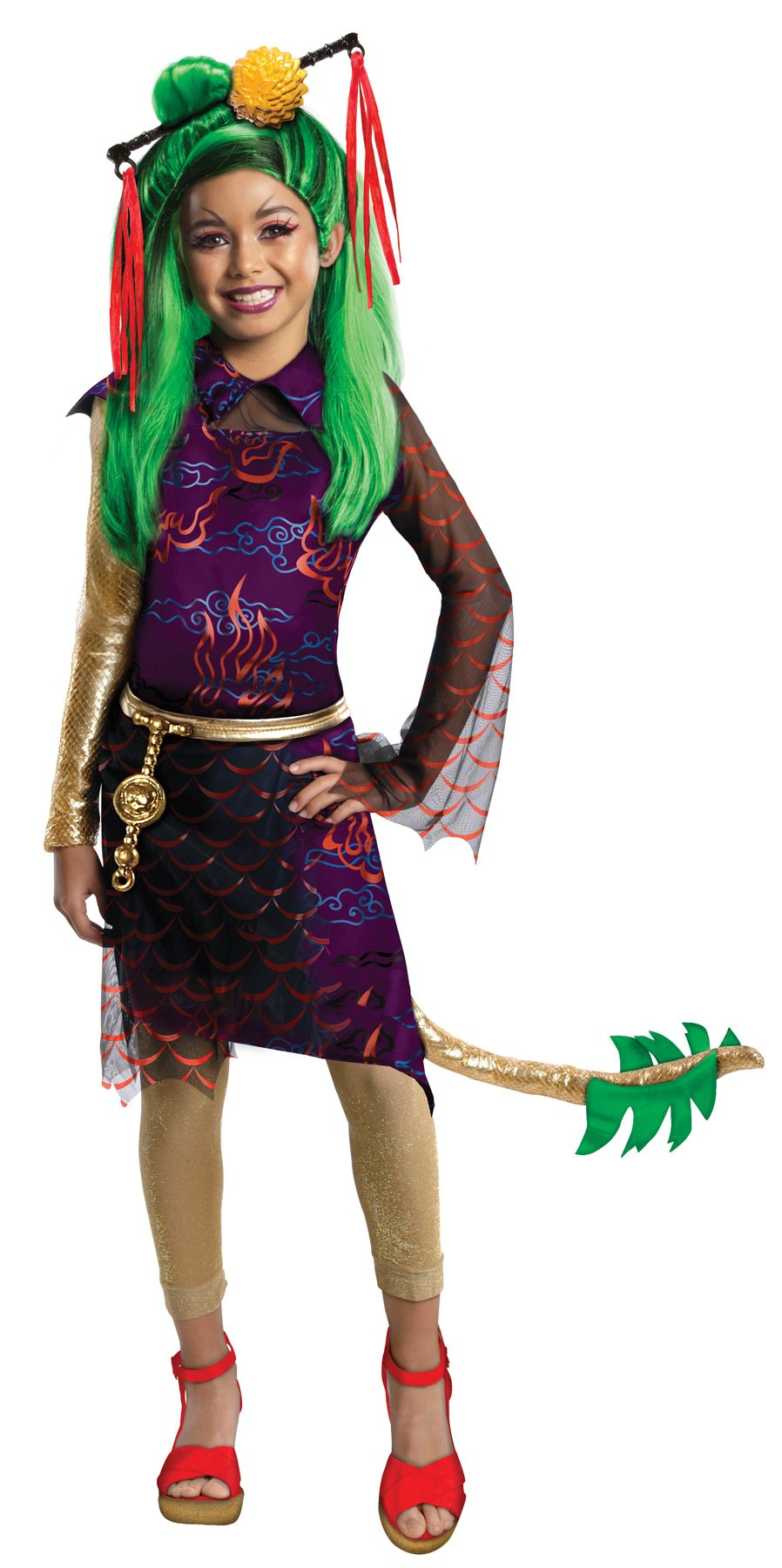 Monster High Jinafire Child Costume Md