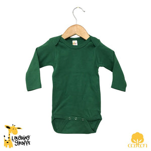 Baby L/S Onesies - Bright Colors