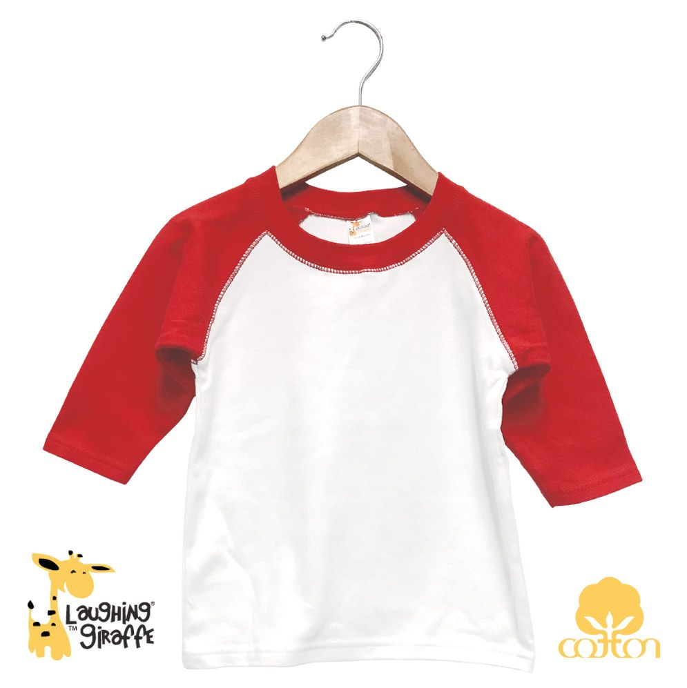 Infant Baseball - White/Red
