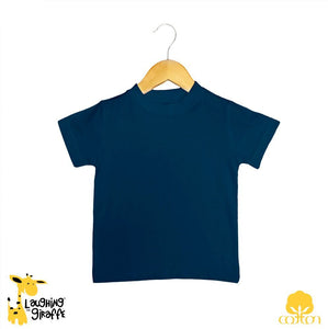 Toddler S/S T-Shirt Black-Navy