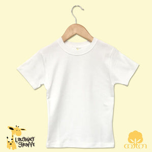 Toddler White T-Shirts - S/S
