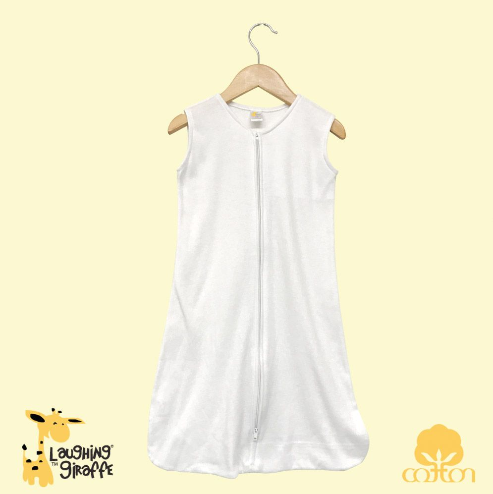 Infant Wearable Sack - White