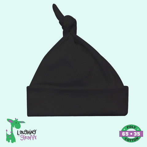 Knotted Beanie Hat - Darks
