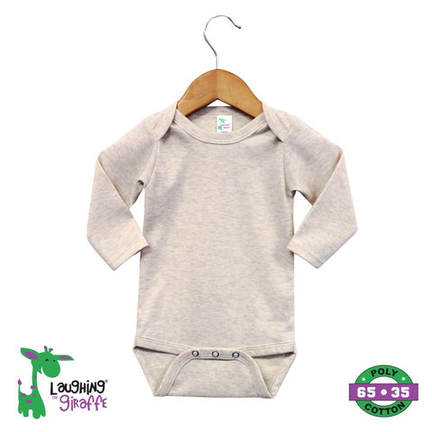 Onesies L Sleeves - Oatmeal