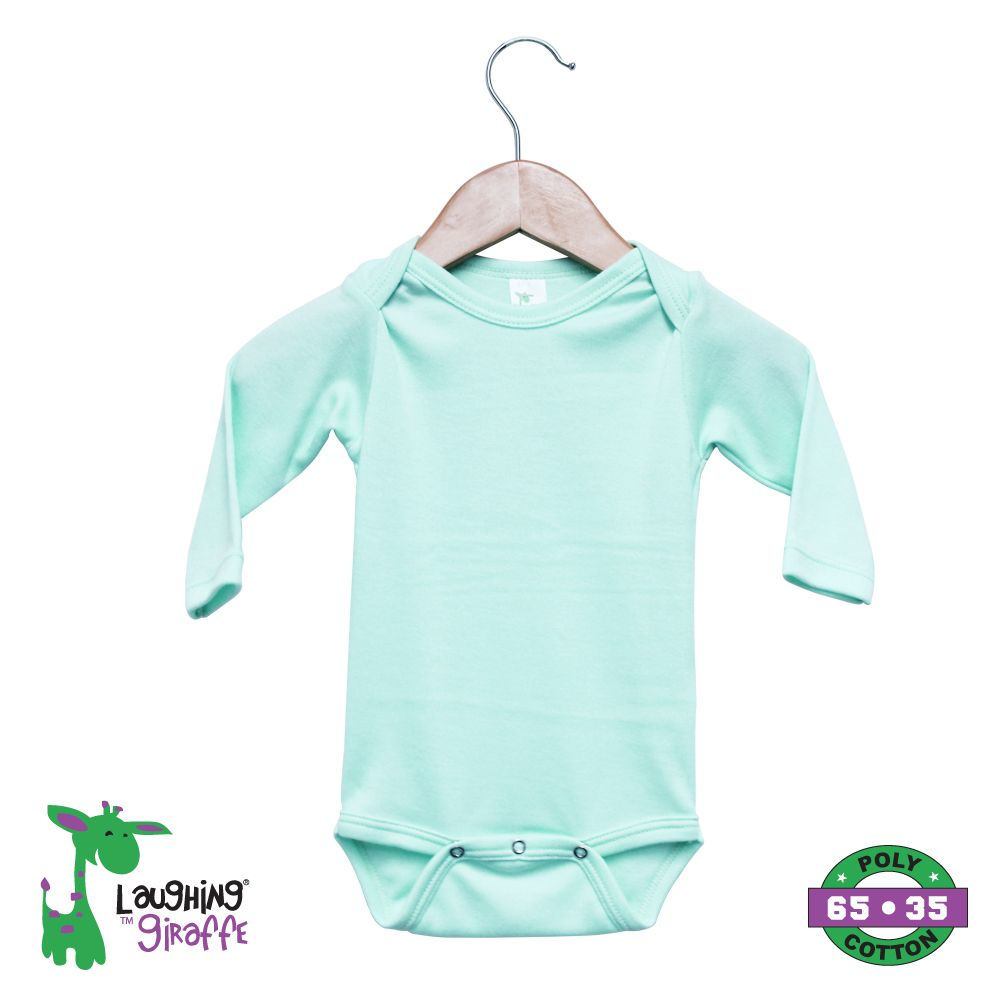 Baby Mint Onesies Long Sleeves