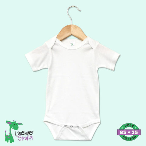 Baby Onesies White - S Sleeves
