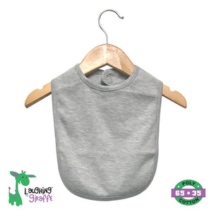 Bib 2 Ply w/ Velcro - Heather