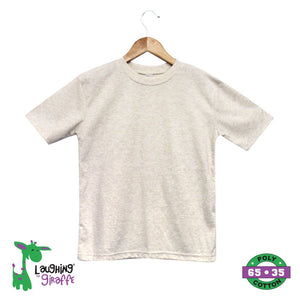 Toddler S/S T-Shirt Crew - Oatmeal